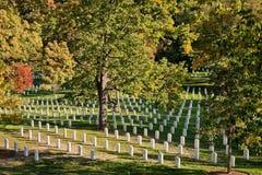 WASHINGTON DC - Εθνικό νεκροταφείο του Άρλινγκτον Στοκ Εικόνες