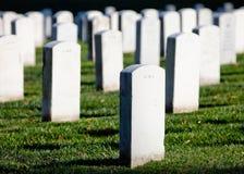 WASHINGTON DC - Εθνικό νεκροταφείο του Άρλινγκτον Στοκ Εικόνα