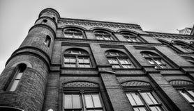 Washington DC, ΗΠΑ Κινηματογράφηση σε πρώτο πλάνο του κτηρίου γύρω από τη λεωφόρο έθνους Στοκ Εικόνες