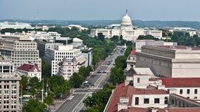 Washington DC - κύριο κτήριο - υπερυψωμένο - χρονικό σφάλμα