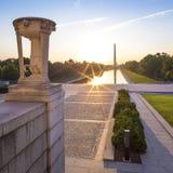 Washington DC στην εθνική λεωφόρο Στοκ Φωτογραφία