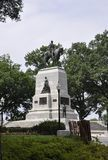 Washington DC, στις 4 Ιουλίου 2017: Γενικό ιππικό άγαλμα W Τ Sherman από κεντρικός της Περιοχής της Κολούμπια ΗΠΑ της Ουάσιγκτον Στοκ Εικόνα