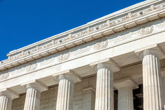 Washington DC - Abraham Lincoln Memorial Stock Images