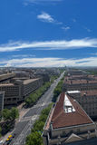 Washington DC aerial view Royalty Free Stock Photography