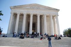 Jefferson Memorial in Washington Dc, USA Royalty Free Stock Photo