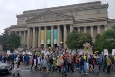 WASHINGTON DC - 22. April 2017 März für Wissenschaft Stockfotos