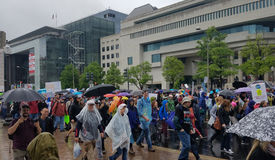 WASHINGTON DC - APRIL 22, 2017 March for Science Stock Photography
