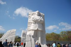 Martin Luther King Jr. Memorial Royalty Free Stock Photography