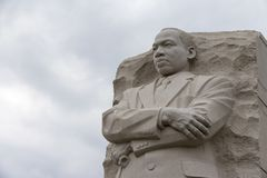 Martin Luther King Memorial In Washington DC Royalty Free Stock Photo