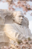 Martin Luther King monumentWashington DC royaltyfria bilder