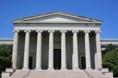 Washington DC architecture. Building facade and columns in Washington DC Royalty Free Stock Image