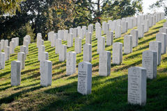 WASHINGTON DC - Arlington National Cemetery Royalty Free Stock Image