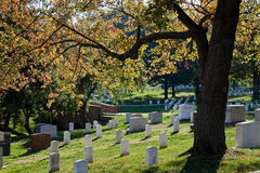WASHINGTON DC - Arlington National Cemetery Royalty Free Stock Photography