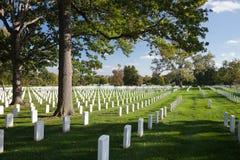 WASHINGTON DC - Arlington nationell kyrkogård Royaltyfri Foto