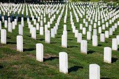 WASHINGTON DC - Arlington nationell kyrkogård Royaltyfria Foton