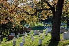 WASHINGTON DC - Arlington nationell kyrkogård Royaltyfri Fotografi