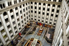 Washington, DC: Atrium of the Old Post Office royalty free stock image
