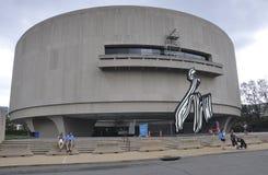 Washington DC, am 5. August: Hirshhorn-Museums-Gebäude von Washington District von Kolumbien lizenzfreie stockfotografie
