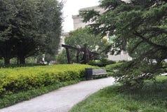 Washington DC, am 5. August: Skulptur von der Galerie des Kunst-und Skulptur-Gartens von Washington District von Kolumbien Stockfotografie