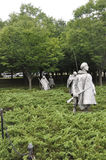 Washington DC,August 5th:Korean War Memorial from Washington District of Columbia Stock Photo