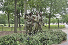 Washington DC,August 5th:Korean War Memorial from Washington District of Columbia Stock Images