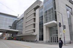 Washington DC Augusti 5th: Modern byggnadsarkitektur från Washington District av Columbia Fotografering för Bildbyråer