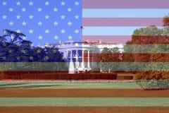 Washington DC blanco de la casa Foto de archivo libre de regalías