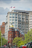 Washington DC buildings near the Capitol Stock Image