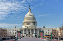 Washington, DC C - 10 GENNAIO 2014: Washington Capitol Immagini Stock Libere da Diritti