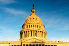 Washington DC Capitol, ΗΠΑ Στοκ Εικόνα