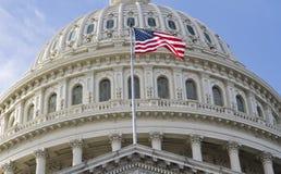 Washington DC, Capitol budynek obraz royalty free