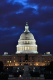 Washington DC, Capitol building in a blue dusk Royalty Free Stock Photo