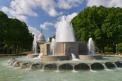 Washington DC - Capitol building and pool Stock Photo