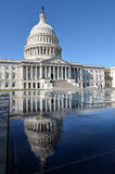 Washington DC - Capitol building and reflection stock images
