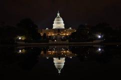 Washington DC - Capitol building and reflection. Washington DC - Capitol building and its reflection Stock Photos