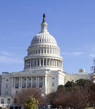 Washington DC , Capitol Building. In USA Royalty Free Stock Image