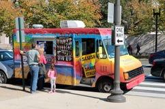 Washington DC. Capitol Food Truck Stock Image