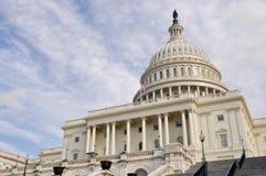 Washington DC Capitol Hill. Facade Stock Photo