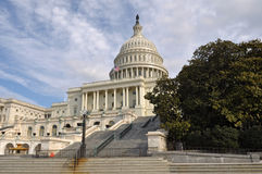Washington DC Capitol Hill Building. In United States Stock Photo