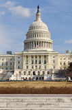 Washington DC Capitol Hill Building. In United States Royalty Free Stock Photo