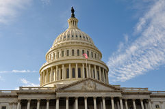 Washington DC Capitol Hill Building. United States Capitol Royalty Free Stock Image