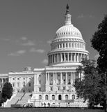 Washington DC Capitol , USA. Washington DC Capitol Black and White, USA Stock Image