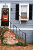 Washington DC - casa storica di Georgetown Fotografia Stock