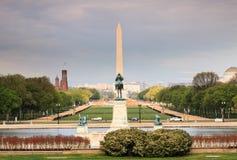 Washington DC centrum handlowego Krajowi punkty zwrotni zdjęcia stock