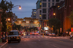 Washington DC china town Stock Images