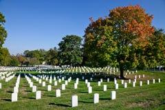 WASHINGTON DC - cimitero nazionale di Arlington immagini stock libere da diritti