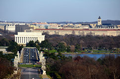 Washington DC city general view Royalty Free Stock Images