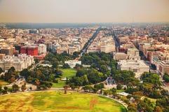 Washington DC-cityscape Fotografering för Bildbyråer