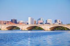 Washington DC-cityscape Arkivbilder