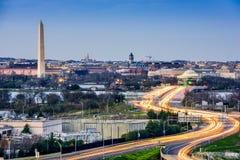 Washington DC Cityscape Royalty Free Stock Photo